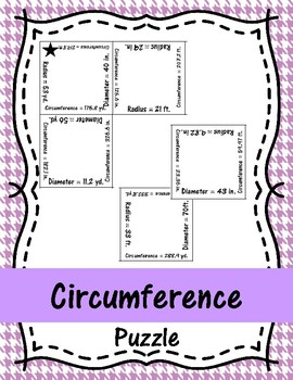 Circumference Puzzle