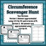 Circumference Scavenger Hunt