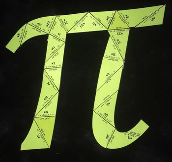 Circumference and Area (Pi- Shaped Puzzle)