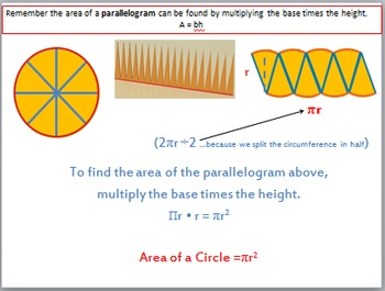 Circumference and Area of Circles Bundle