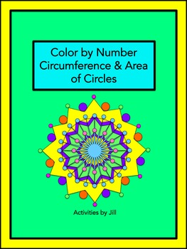 Circumference And Area Of Circles Worksheet Teaching Resources