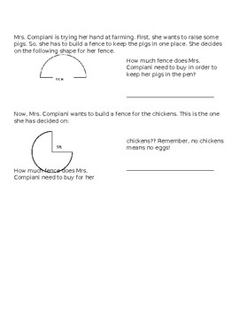 Circumference of Circle Challenge Problems