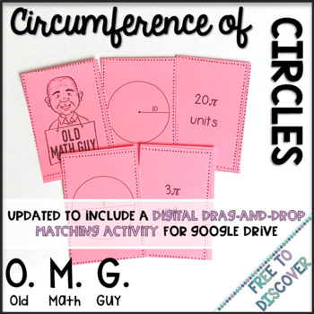 Circumference of Circles Card Game