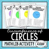 Circumference of Circles Math Lib