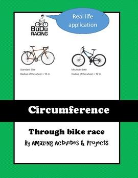 Circumference of Circles Real World Applications