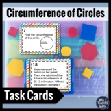 Circumference of Circles Task Cards