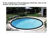 Circumference of Swimming Pool