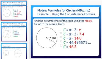Circumference of a Circle (Day 1)