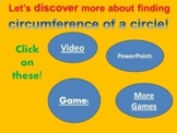 Circumference of a Circle-Made Easy as Pi!(27 slide Powerpt/smartboard Lesson).