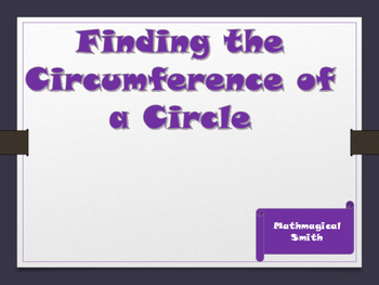 Circumference of a Circle Maze