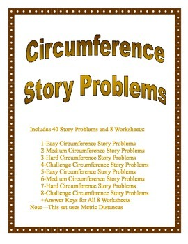 Circumference of a Circle Story Problems