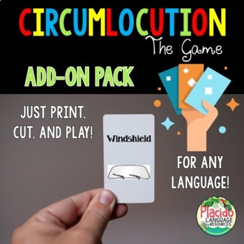 Circumlocution Game ADD ON pack