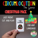 Circumlocution Game Christmas edition for Spanish, French, German and MORE!