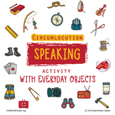 Circumlocution Speaking Activity with Everyday Objects (Any Language!!!!)