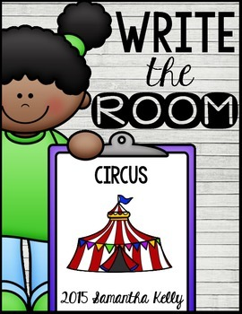 Circus Write the Room Center