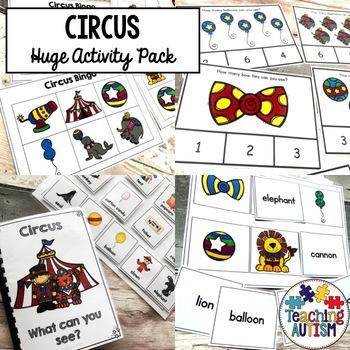 Circus Activity Bundle