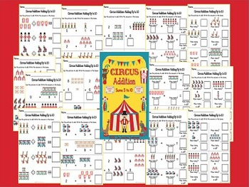 Circus Addition & Subtraction Within 10 Bundle