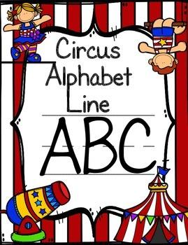 Circus Alphabet Line