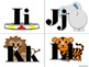 Circus Alphabet (Word Wall Tags)