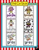 Circus Animals Theme Color Posters