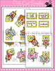 Telling Time Clock Labels - Circus Animals Theme