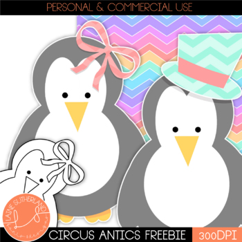 Circus Antics - Penguin Freebie