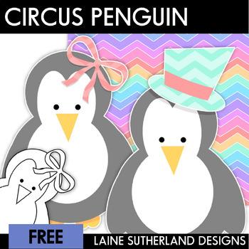 Circus Antics - Penguin Freebie