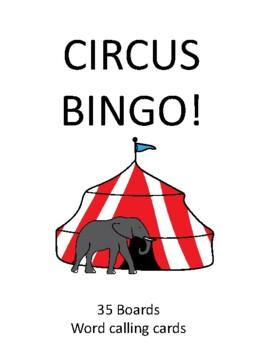 Circus BINGO!