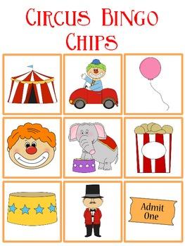 Circus Bingo FREEBIE by Kay Rose | Teachers Pay Teachers