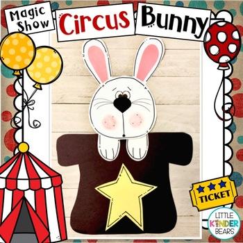 Circus Bunny Magic Show Craft for Circus Theme