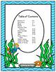 Ocean Theme Classroom Decor - Calendar Set