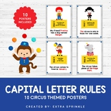 Circus Capital Letter Rules Posters