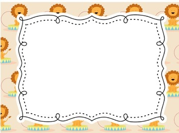 Circus Carnival Create-Your-Own Posters or Lists with PDF, JPEG and PNG Files