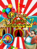 Circus Carnival Theme Pocket Chart Subject Schedule Cards and Calendar