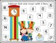 Circus Cat Themed Roll & Cover Addition & Subtraction Games!