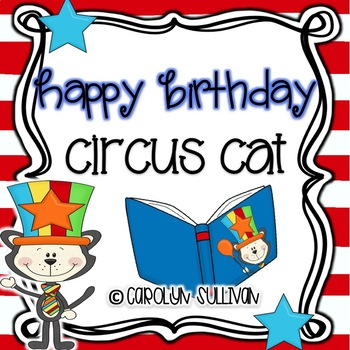 Circus Cat With A Hat - Math and Literacy Centers