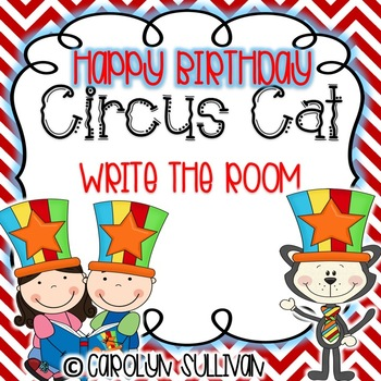 Circus Cat With A Hat - Write the Room