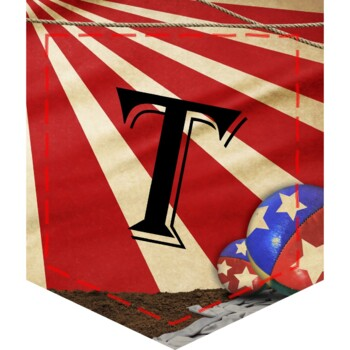 Circus Carnival Welcome to the Big Top! Classroom Decor Banner