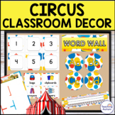 Circus Editable Classroom Decor Pack
