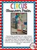 Circus Classroom Poster Freebie
