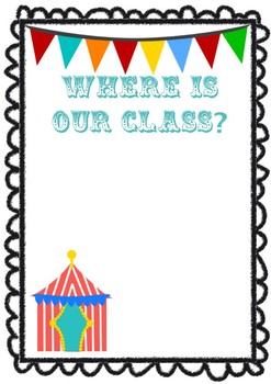 Circus Classroom Setup Products