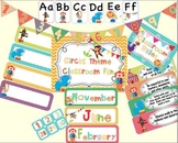 Circus Classroom Theme Set