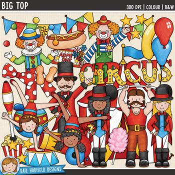 Circus Clip Art Bundle