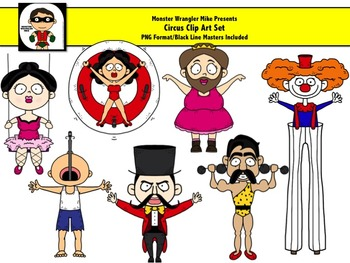 Circus Clipart Collection