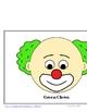 Circus / Clown Themed Behavior Clip Chart AND Take Home Chart