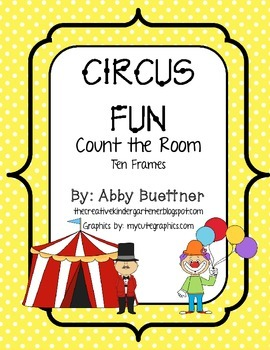 Circus Count the Room Ten Frames