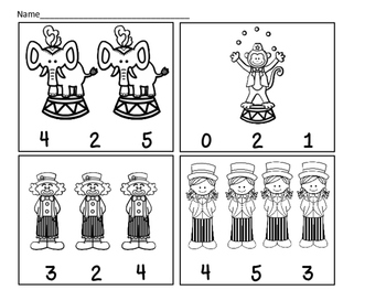 Circus Counting