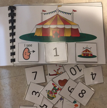 Circus Counting Book