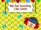 Circus  Counting Clip Cards