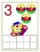 Circus Counting Play Dough Mats